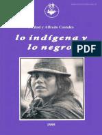 Lo Indígena y Lo Negro -Costales