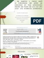 Mayor Biosíntesis de Arginina y Menor Perfil Proteolítico