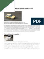 Tipos de Catalizadores en Los Automóviles