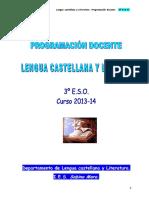 3º ESO. Lengua castellana. PROGRAMACIÓN DOCENTE..pdf
