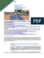 Kit Solar Autoconsumo de 500W Legalizado Segun RD900_2015