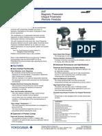 AXF Magnetic Flowmeter Integral Flowmeter Remote Flowtube
