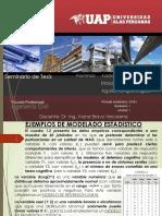 Ejemplos de Modelado Estadístico - Seminario de Tesis