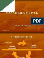 3a. Manajemen Proyek