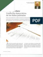Lenguaje Claro -  Condición democrática de los Fallos Judiciales.pdf
