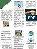 Trifoliar Contaminacion Del Agua Sin Fondo