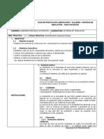 Guías de Practicas de Mantenimiento Suspensión Rígida.