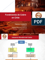 Fundiciones de Cobre en Chile