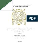 SECCIÓN CUARTA DE LA LEY GENERAL DE SOCIEDADES