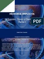 Danilo Díaz Granados - Memoria Implícita