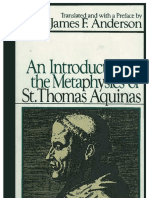 An Introduction to the Metaphysics of St Thomas Aquinas Chapters 1 to 4