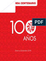 Agenda Anual Centenario Bellas Artes