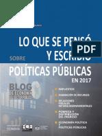Lo Que Se Pensó y Escribió Sobre Politicas Publicas en 2017