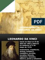 Invenciones de Leonardo Da Vinci
