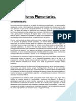 lesiones pigmentarias