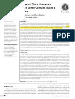 Doping Genético o Senso Comum Versus a Realidade Científica
