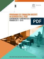 Formación Docente 2017 PERU