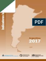 Indicadores Basicos de Salud Argentina 2016