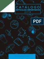 Catalogo Importados 2018