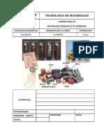 2017-2 Lab - 03 Metales Ferrosos y No Ferrosos