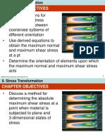 Hibbeler, Mechanics of Materials-Stress Transformation
