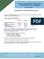 Diagnostic Cirrhose-2008