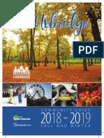 2018 Fall Winter Community Guide