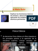 Modelo Atomico de Bohr