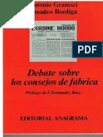 Antonio Gramsci & Amadeo Bordiga - Debate Sobre Los Consejos de Fábrica
