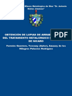 Obtencion de Lupias de Arrabio - Ferreiro Guerrero, Yosvany