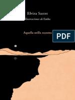 Aquella Orilla Nuestra (Spanish - Elvira Sastre