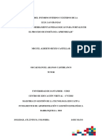 Analisis Inerno y externo de la aplicación de las TIC