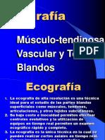 20.- Ecografía Musculo esquelética.pps