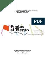 II ENCUENTRO INTERNACIONAL DE POETAS AL VIENTO