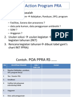 Format Plan of Action Ppra - Snars