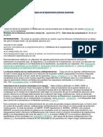 Elección Del Tratamiento Farmacológico en La Hipertensión Primaria
