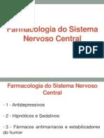 2 - Farmacologia Do SNC (Antidepressivos, Hipnóticos e Sedativos)