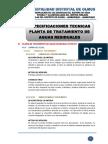 4. Especificaciones Tecnicas - Ptar