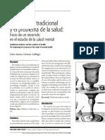 La Medicina Tradicional y El Problema de La Salud