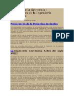 Historia de La Geotecnia