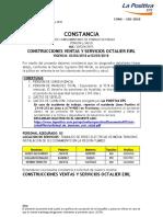 Construcciones Ventas y Servicios Octalier Eir 01.02.2018