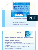Introduction to Hydroinformatics - presentation for UNESCO-IHE students (v16)