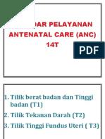 Standar Pelayanan Antenatal Care 14t