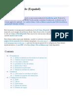 Installation guide (Español) - ArchWiki