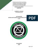 Acuerdo No. 2018-001 Actualización Del Siee