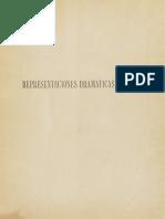 Las primeras representaciones dramáticas en Chile. Miguel Luis de Amunátegui 1888