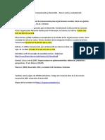 Referencias  en el campo Comunicación y Desarrollo tercer sector, soc civil.docx