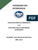 Monografia Perfiles Criminales