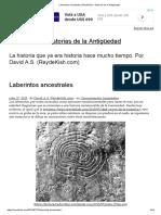 Simbolismo Laberinto y Circulos Concentricos