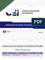InstalaciónEquipoRastreoGV300